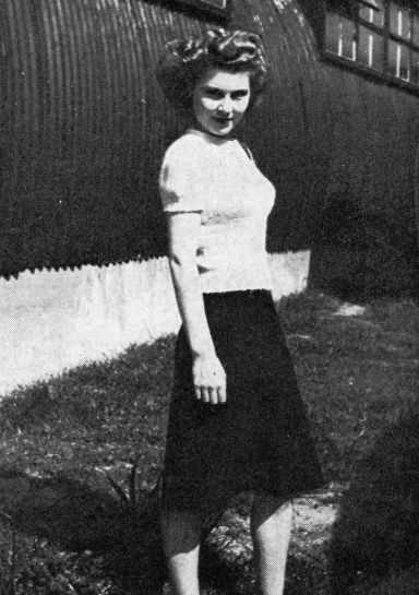 Anne Valery while working at HQ Southern Command in 1944